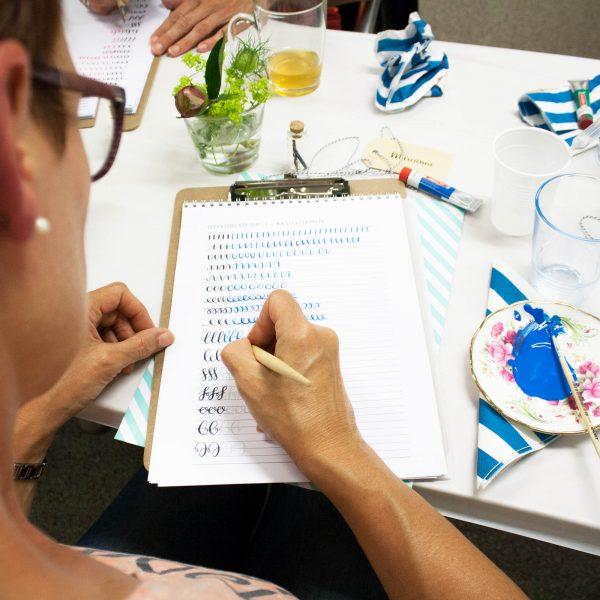 Workshop moderne kalligrafie voor beginners