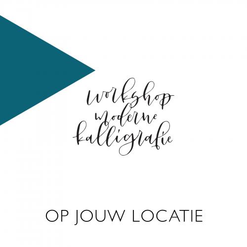 Workshop kalligrafie op locatie inhuren