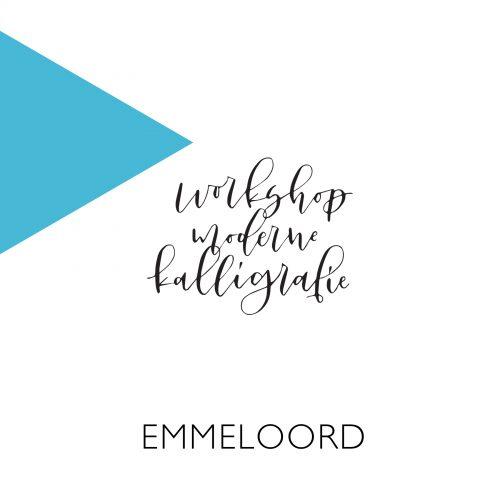 Moderne kalligrafie Emmeloord