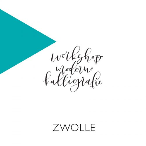 Moderne kalligrafie workshop Zwolle