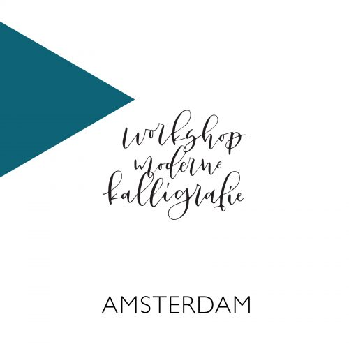 Moderne kalligrafie workshop Amsterdam