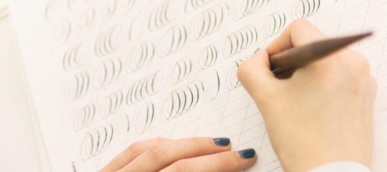 Kalligrafie drills