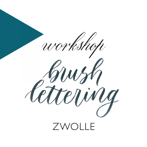 Workshop kalligrafie brushlettering zwolle
