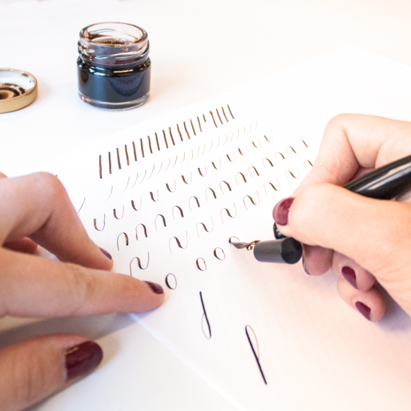 Workshop kalligrafie copperplate modern