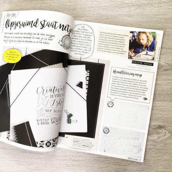 Magazine Creative letters handlettering kalligrafie brushlettering do it yourself