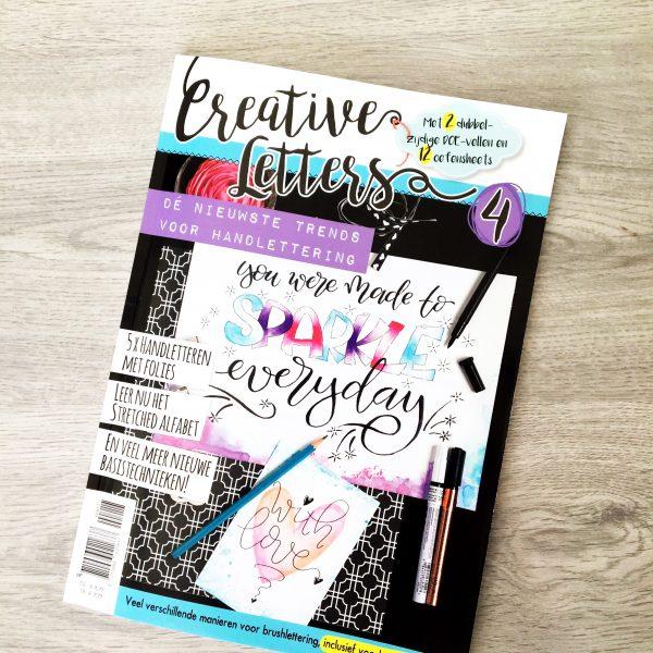 Creative letters handlettering kalligrafie brushlettering