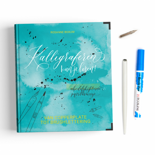 Kalligraferen kun je leren