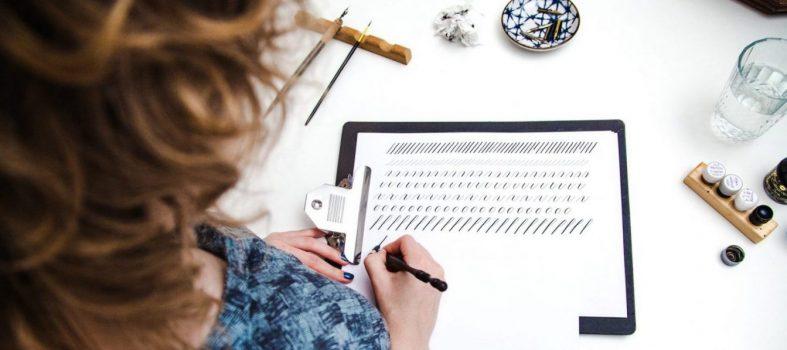 Copperplate kalligrafie cursus
