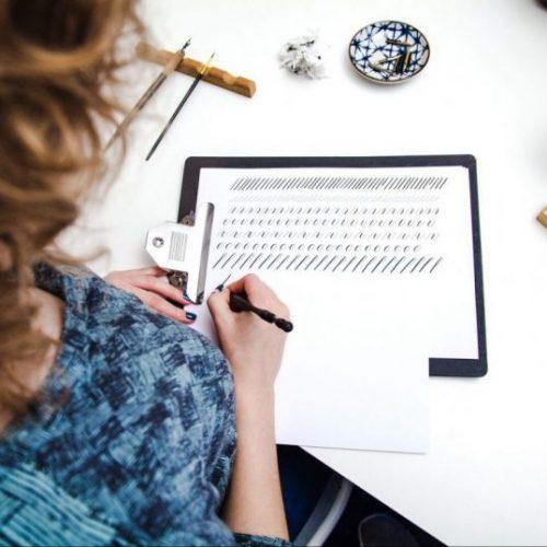 Studio Rosanne cursus kalligrafie