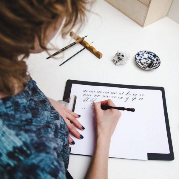 Studio Rosanne online cursus kalligrafie