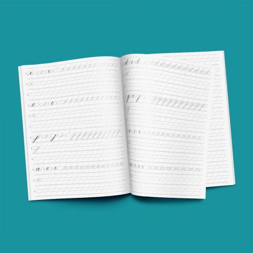 Kalligrafie Copperplate werkboek