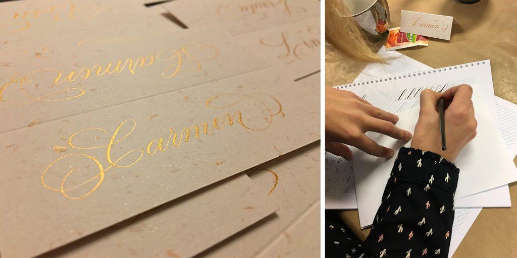 Workshop kalligrafie Copperplate