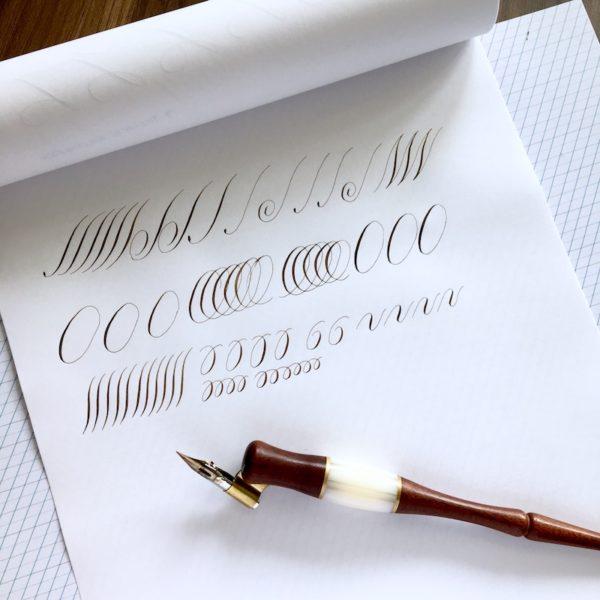 Online cursus kalligrafie e-course module 4