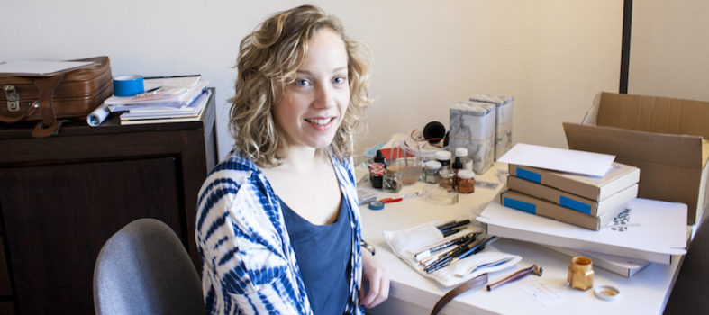 Studio Rosanne kalligrafie leren