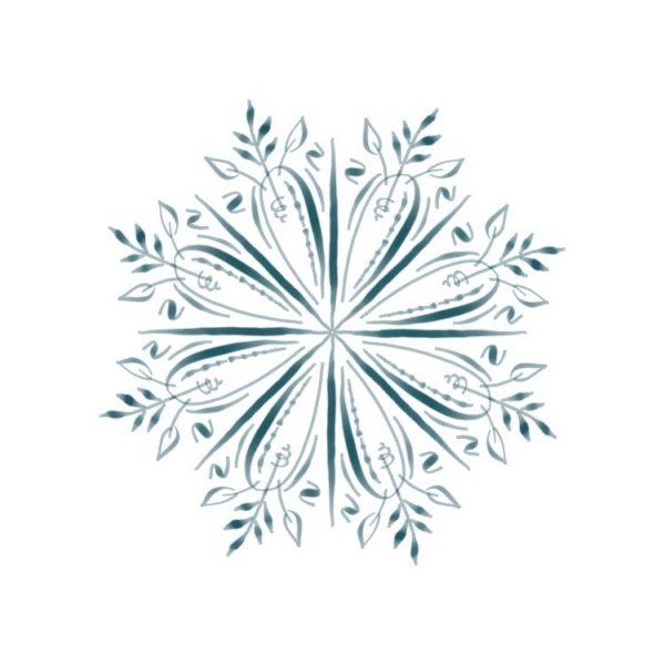 Calligraphy medallion iPad