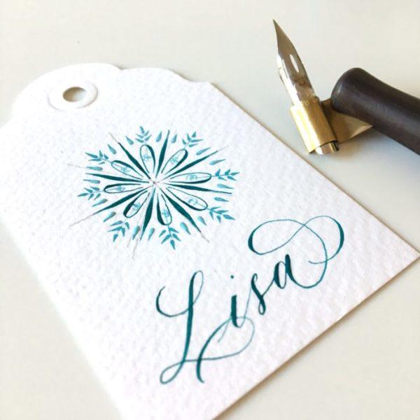 Calligraphy medaillon