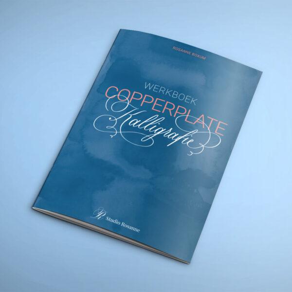 Werkboek Copperplate kalligrafie leren