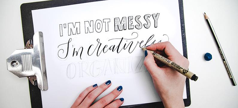 Verschil handlettering en kalligrafie