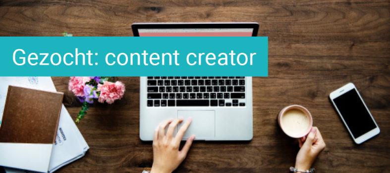 Content creator gezocht vacature