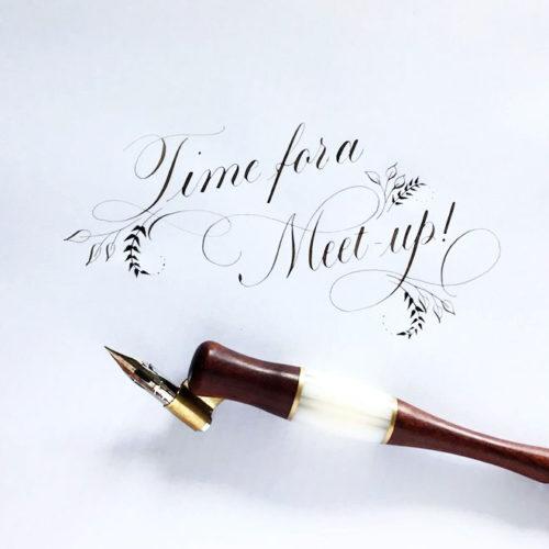 Meet-up kalligrafie