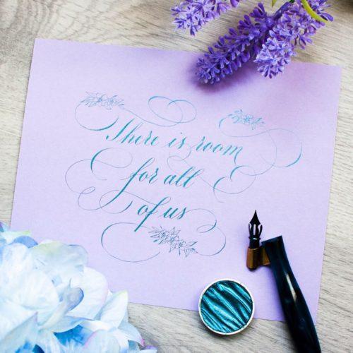 Flourishing kalligrafie cursus