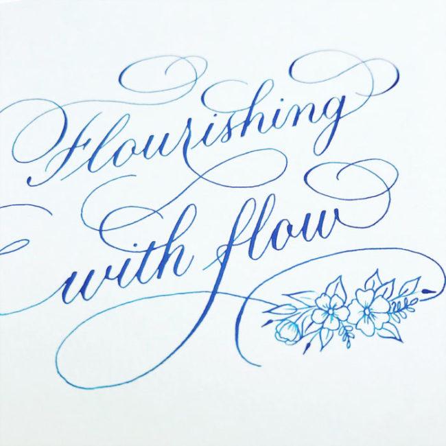 Flourishing online kalligrafie cursus