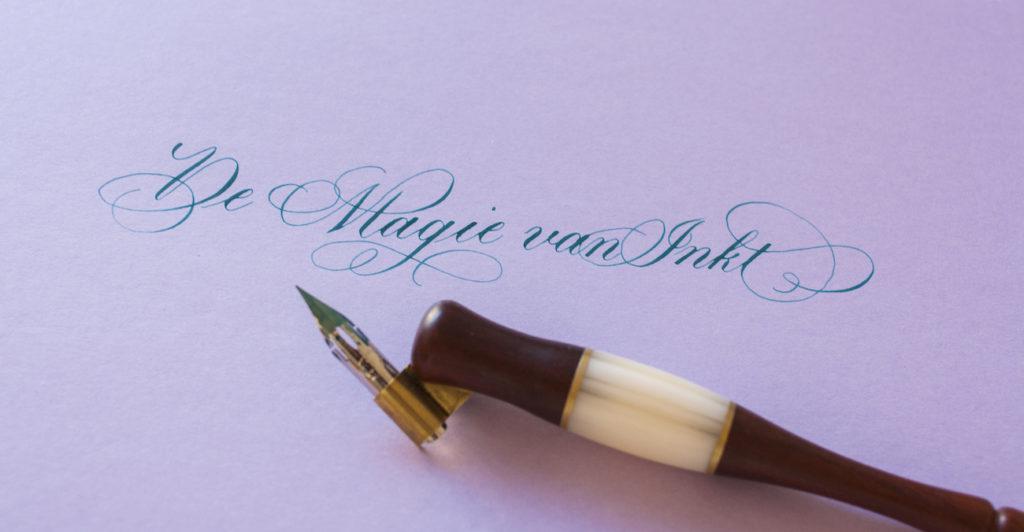 Kalligrafie online cursus - De Magie van Inkt