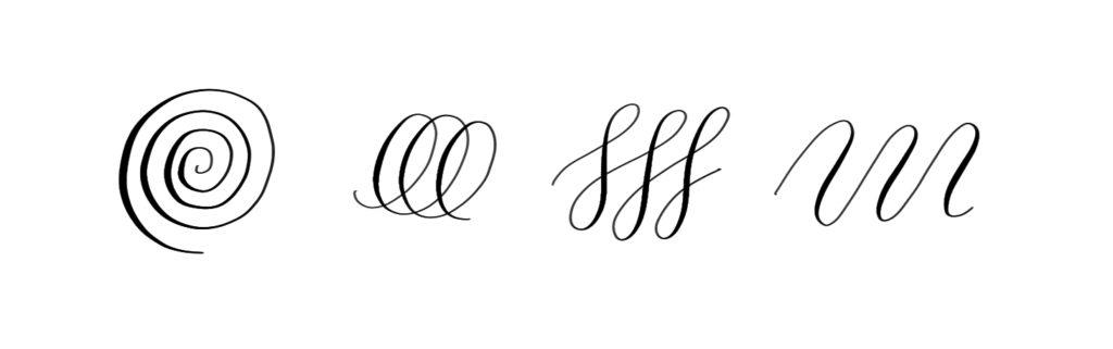 Drills kalligrafie