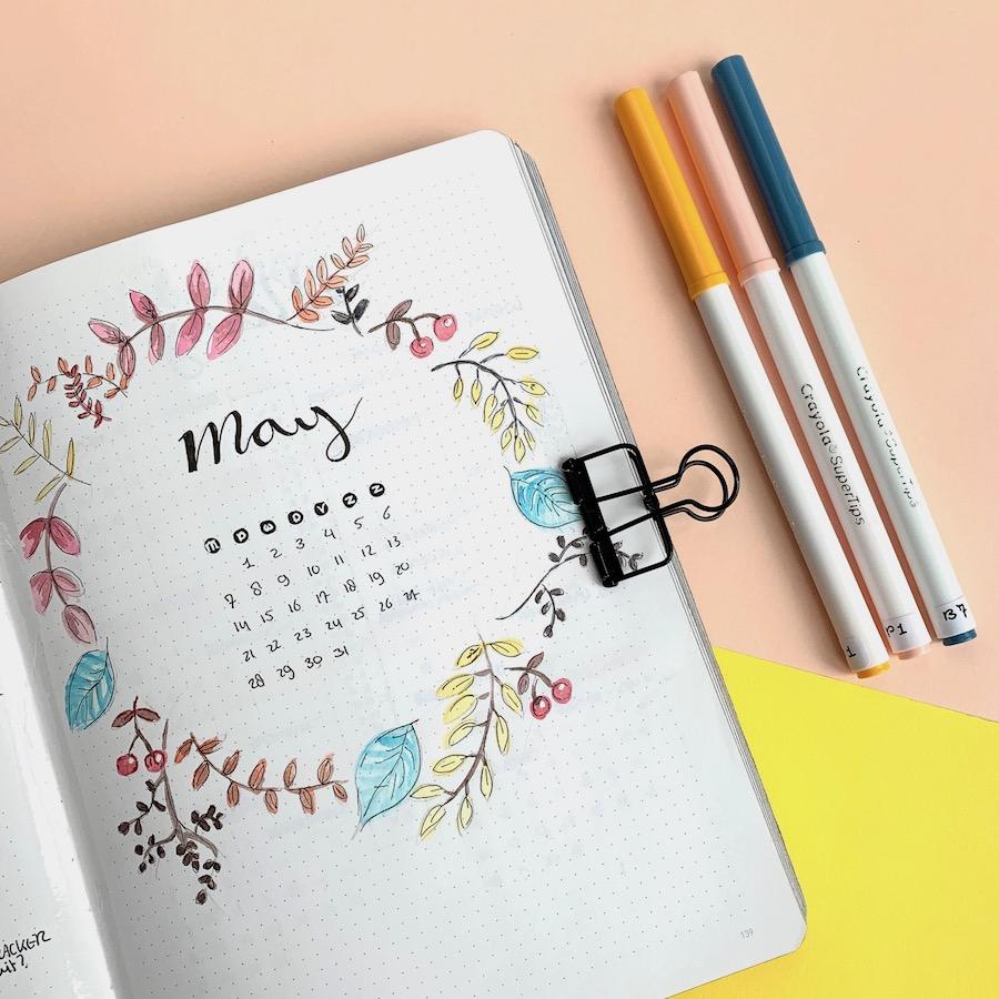 Kalligrafie in je bullet journal