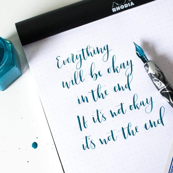 Workshop kalligrafie basis