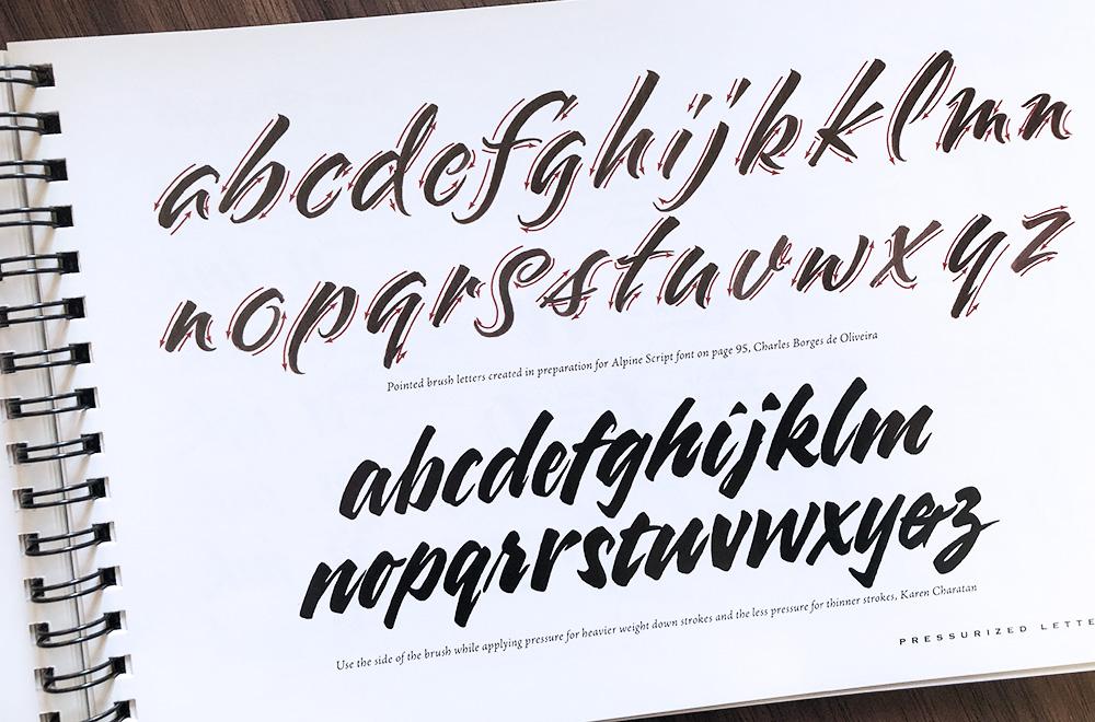 Brushlettering brush kalligrafie geschiedenis
