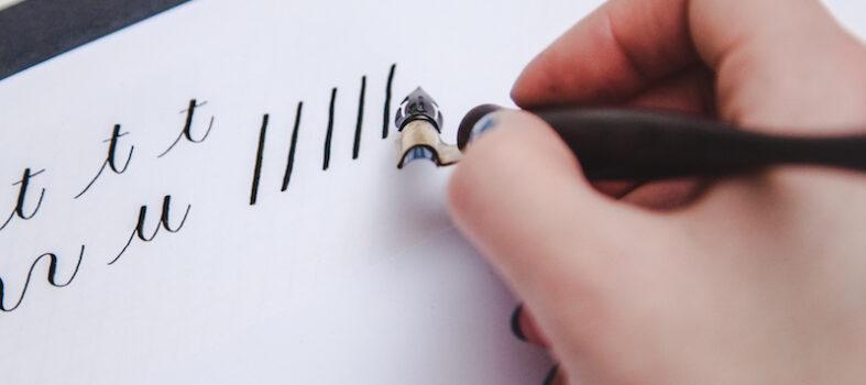 Privé kalligrafie les