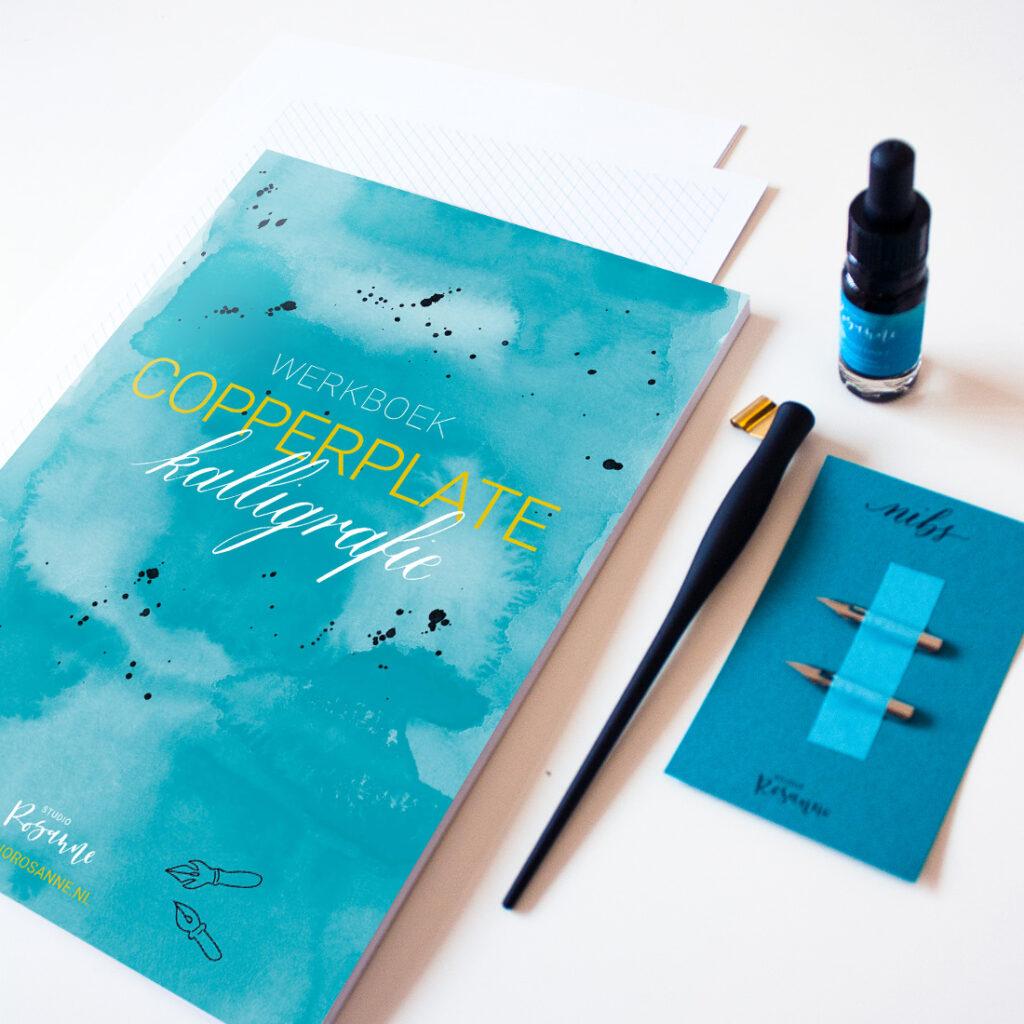 Kalligrafie starterset copperplate