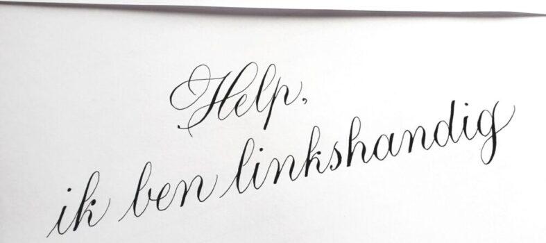 Linkshandig-leren-kalligraferen-kalligrafie