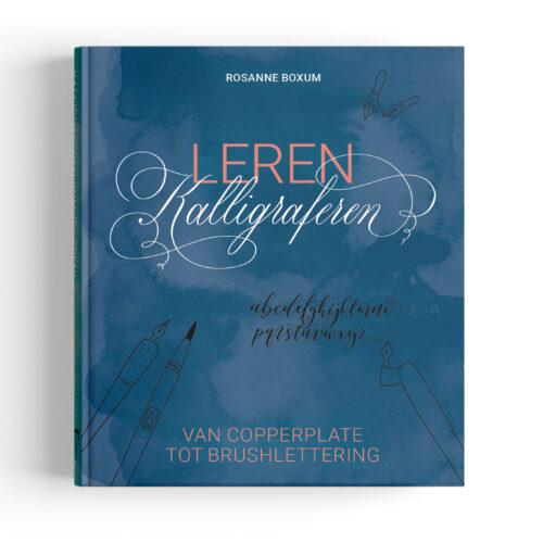 Leren kalligraferen boek - Copperplate kalligrafie