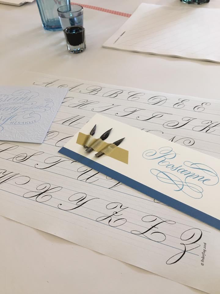 Workshop kalligrafie Bremen